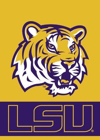 NCAA Louisiana State Tigers 2-Sided Garden Flag