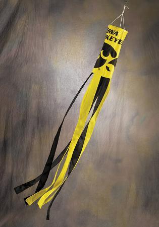 NCAA Iowa Hawkeyes Wind Sock