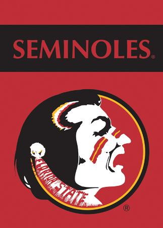 NCAA Florida State Seminoles 2-Sided Garden Flag