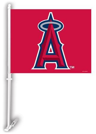 MLB Anaheim Angels Car Flag