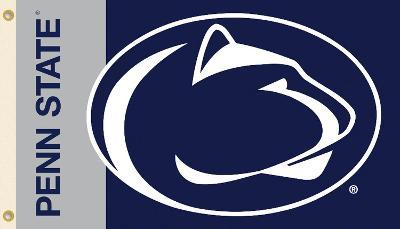 NCAA Penn State Nittany Lions Flag with Grommets
