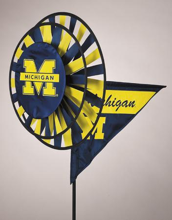 NCAA Michigan Wolverines Yard Spinner