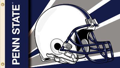 NCAA Penn State Nittany Lions Helmet Flag with Grommets