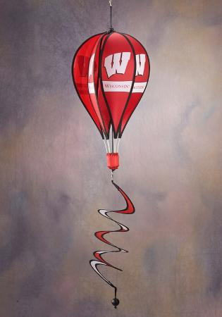 NCAA Wisconsin Badgers Hot Air Balloon Spinner