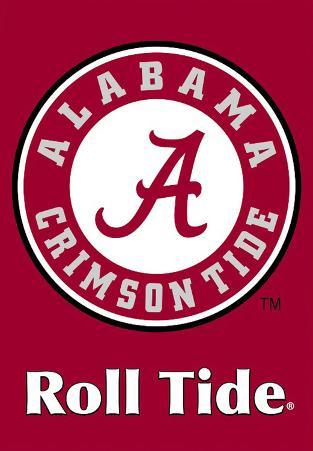 NCAA Alabama Crimson Tide 2-Sided House Banner