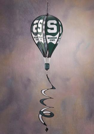 NCAA Michigan State Spartans Hot Air Balloon Spinner