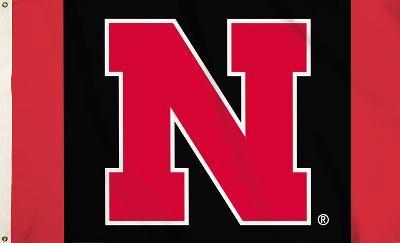 NCAA Nebraska Cornhuskers Flag with Grommets
