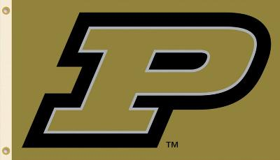 NCAA Purdue Boilermakers Flag with Grommets