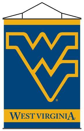 NCAA West Virginia Mountaineers Indoor Banner Scroll
