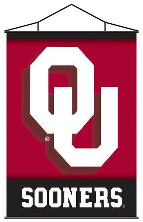 NCAA Oklahoma Sooners Indoor Banner Scroll