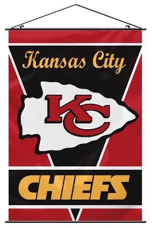 NFL Kansas City Chiefs Wall Banner
