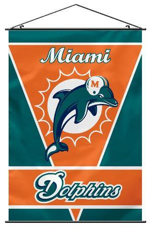 NFL Miami Dolphins Wall Banner
