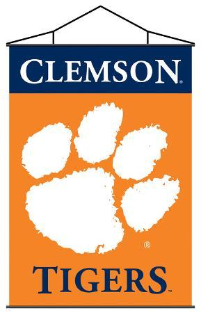 NCAA Clemson Tigers Indoor Banner Scroll