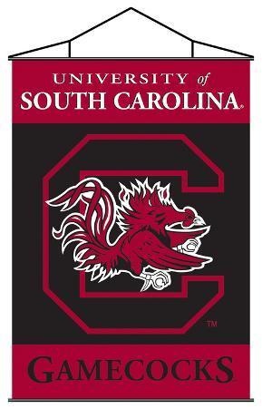NCAA South Carolina Gamecocks Indoor Banner Scroll