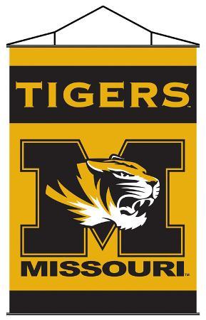 NCAA Missouri Tigers Indoor Banner Scroll