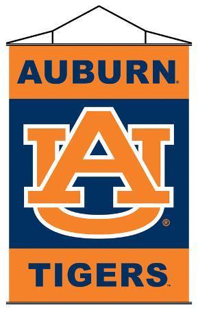 NCAA Auburn Tigers Indoor Banner Scroll