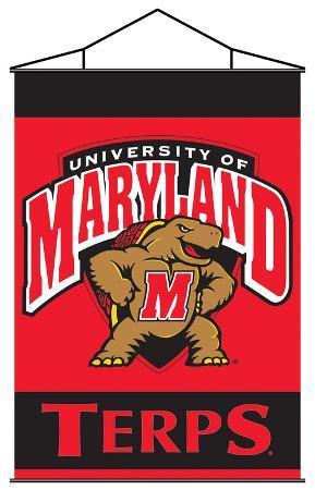NCAA Maryland Terrapins Indoor Banner Scroll