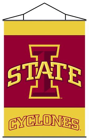 NCAA Iowa State Cyclones Indoor Banner Scroll