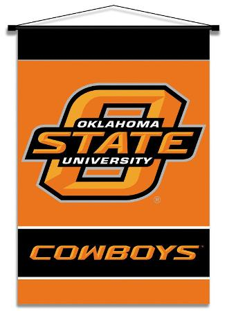 NCAA Oklahoma State Cowboys Indoor Banner Scroll