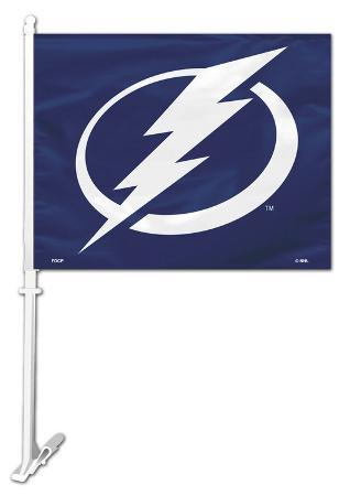 NHL Tampa Bay Lightning Car Flag