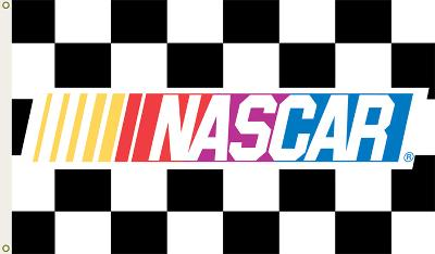 Nascar Checkered Flag with Grommets