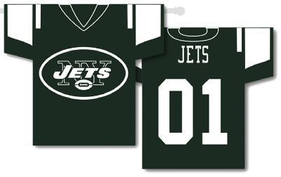 NFL New York Jets 2-Sided Jersey Banner