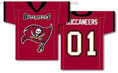 NFL Tampa Bay Bucaneers 2-Sided Jersey Banner