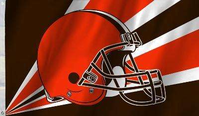 NFL Cleveland Browns Flag with Grommets
