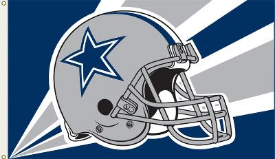 NFL Dallas Cowboys Flag with Grommets
