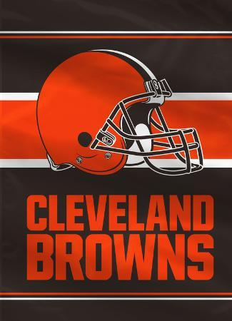 NFL Cleveland Browns 2-Sided House Banner