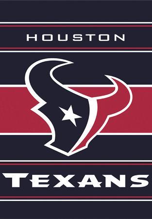 NFL Houston Texans 2-Sided House Banner