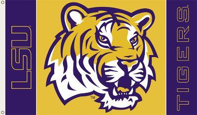 NCAA Louisiana State Tigers 2-Sided Flag with Grommets