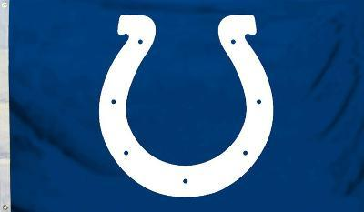 NFL Indianapolis Colts Flag with Grommets