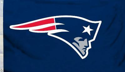 NFL New England Patriots Flag with Grommets