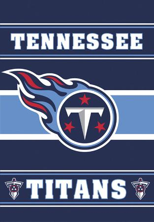 NFL Tennessee Titans 2-Sided House Banner