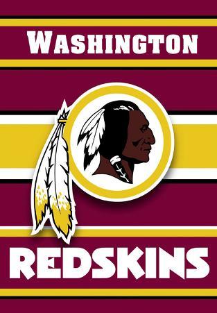 NFL Washington Redskins 2-Sided House Banner