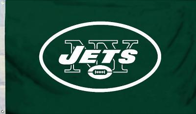 NFL New York Jets Flag with Grommets