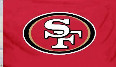 NFL San Francisco 49Ers Flag with Grommets