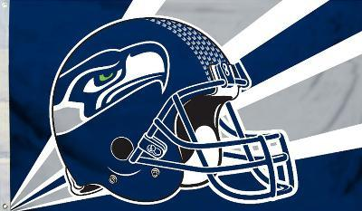 NFL Seattle Seahawks Flag with Grommets