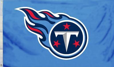 NFL Tennessee Titans Flag with Grommets