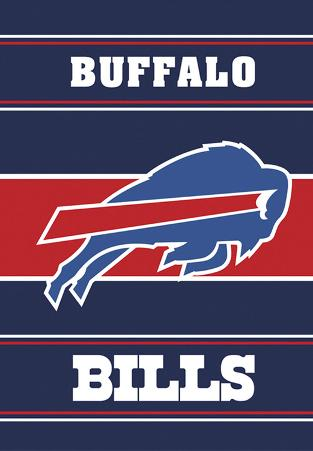 NFL Buffalo Bills 2-Sided House Banner