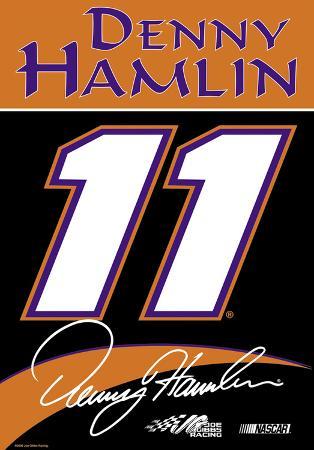 Nascar Denny Hamlin #11 2-Sided House Banner