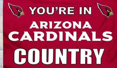 NFL Arizona Cardinals Flag with Grommets