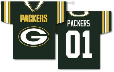 NFL Green Bay Packers 2-Sided Jersey Banner