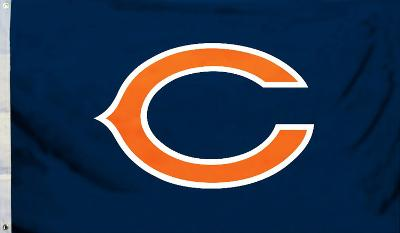 NFL Chicago Bears Flag with Grommets