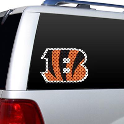 NFL Cincinnati Bengals Diecut Window Film
