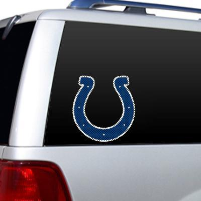 NFL Indianapolis Colts Diecut Window Film