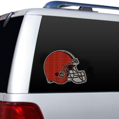 NFL Cleveland Browns Diecut Window Film