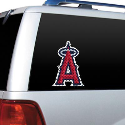 MLB Anaheim Angels Diecut Window Film
