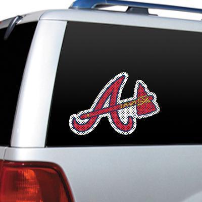 MLB Atlanta Braves Diecut Window Film